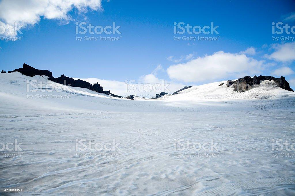 Vatnajokull Glacier Iceland royalty-free stock photo