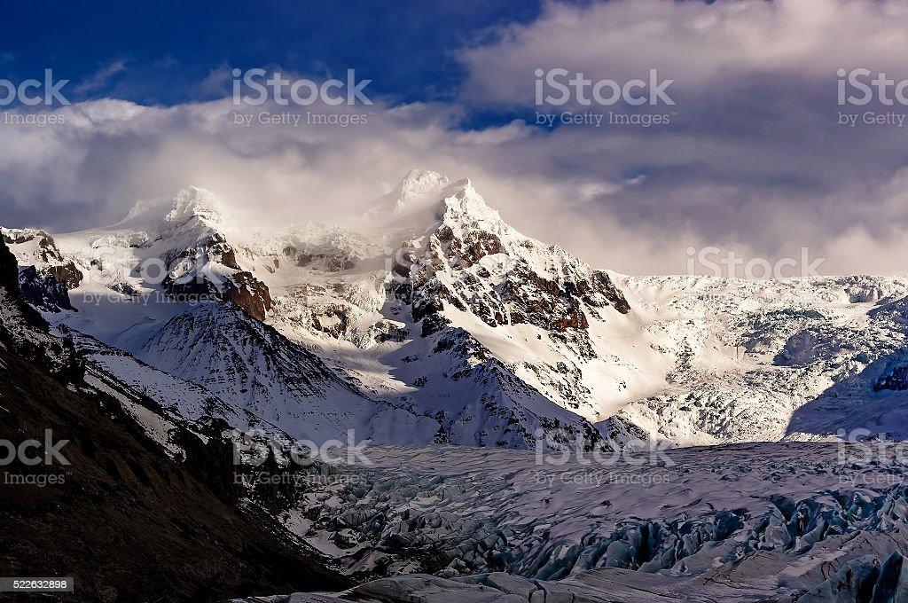 Vatnajokull royalty-free stock photo