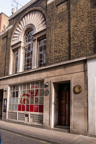Vaudeville Theatre and Hungarian Cultural Centre, London stock photo