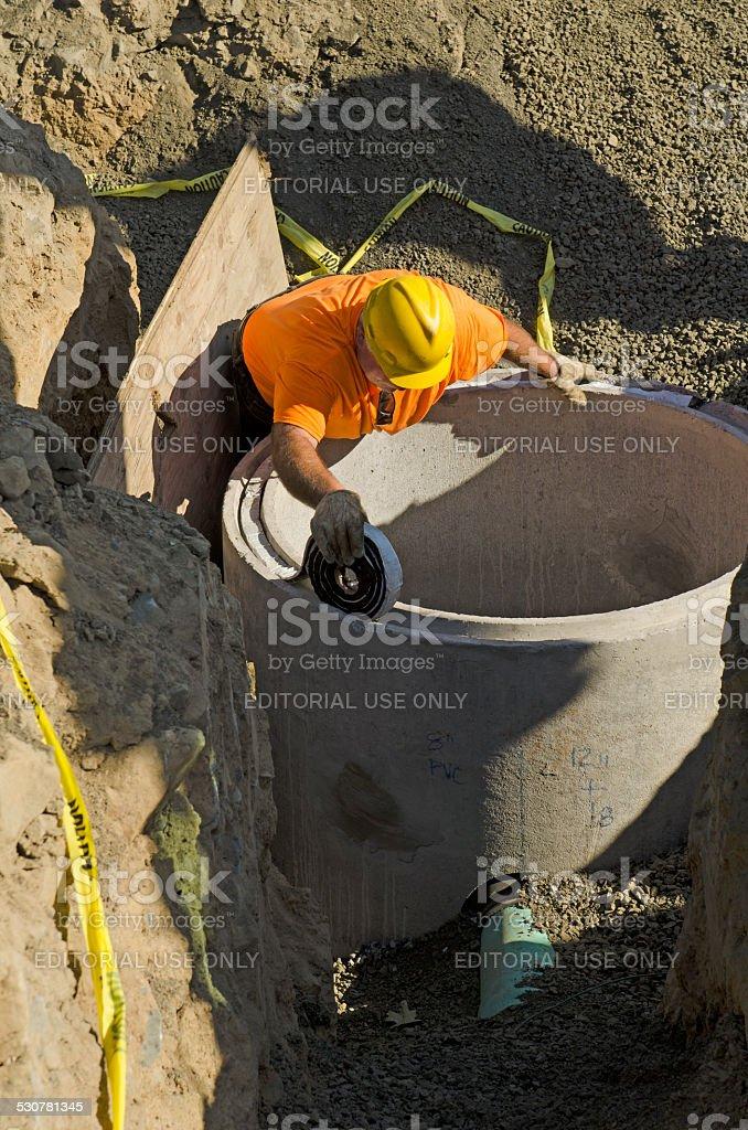 Vault Riser stock photo