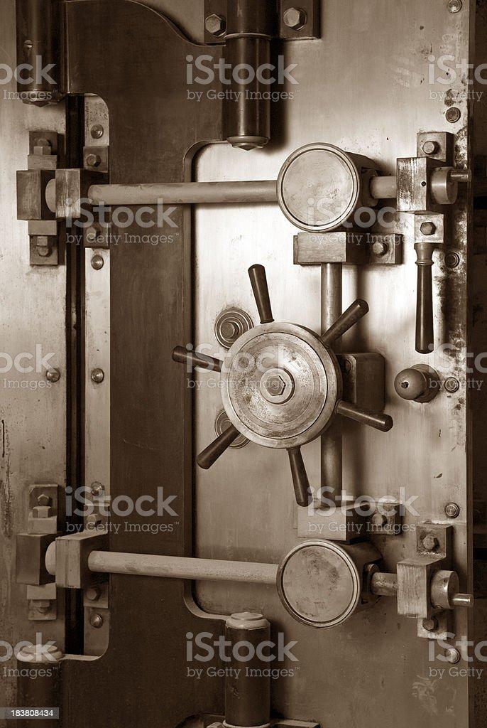 Vault Safe Vintage royalty-free stock photo