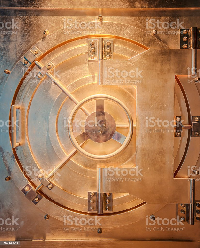 Vaulted Door stock photo
