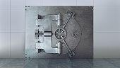 istock Vaulted Door with Grey Color 1288421469
