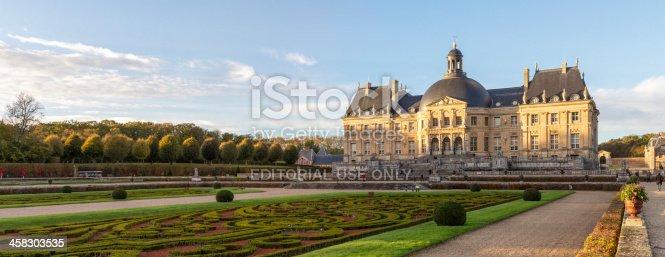 istock Vaux-le-Vicomte : castle and garden 458303535