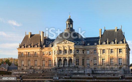 istock Vaux-le-vicomte castle 458243561