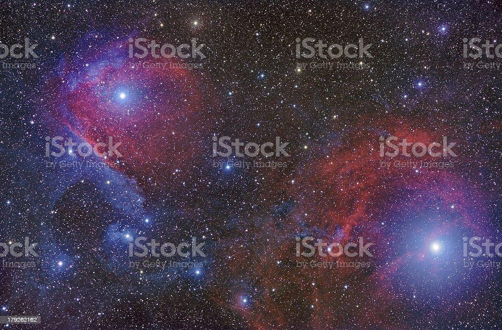 Vdb 99 Nebula in Scorpius royalty-free stock photo