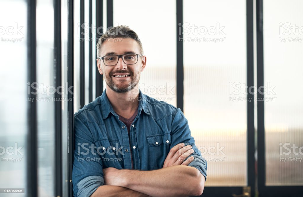 I've always had a keen eye for business stock photo