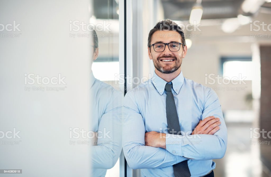 I've been bringing big successes into this company stock photo