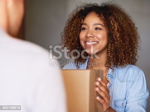 1053001624 istock photo I've been expecting this package 640188616