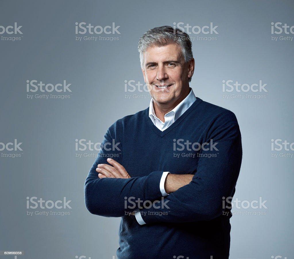 I've built a life I'm proud of stock photo