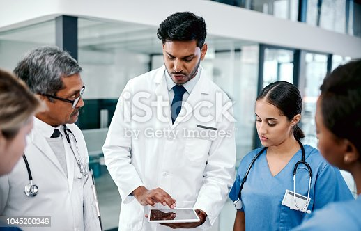 istock I've devised this new treatment plan for our patient 1045200346