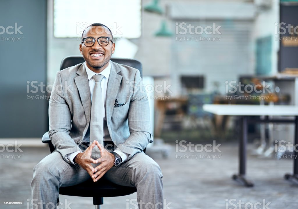 I've got all the ambition to make it big royalty-free stock photo
