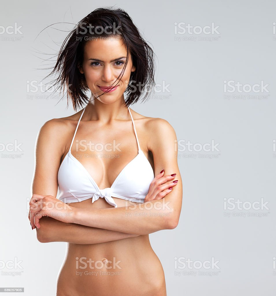 I've got all the summer support I need stock photo
