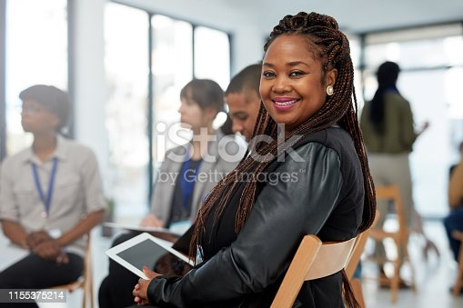 istock I've got ideas that will make the company go to new heights 1155375214