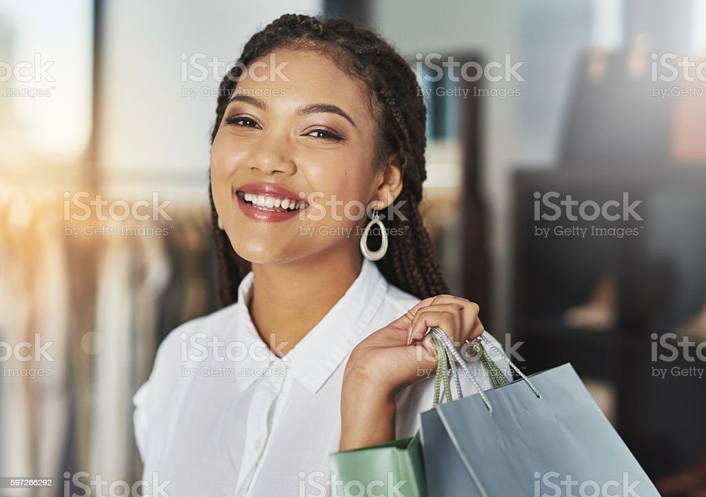 I've got my style in the bag royalty-free stock photo
