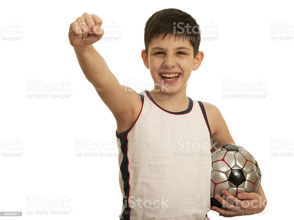 I've got the victory! royalty-free stock photo