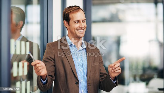 istock I've got the winning formula for success 646457678