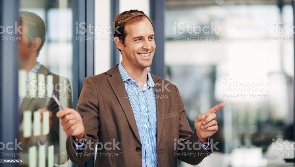 Tengo la fórmula ganadora para el éxito - foto de stock