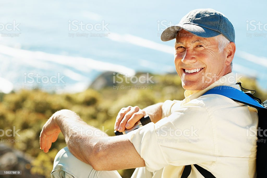 I've got time to enjoy my hobby now! royalty-free stock photo