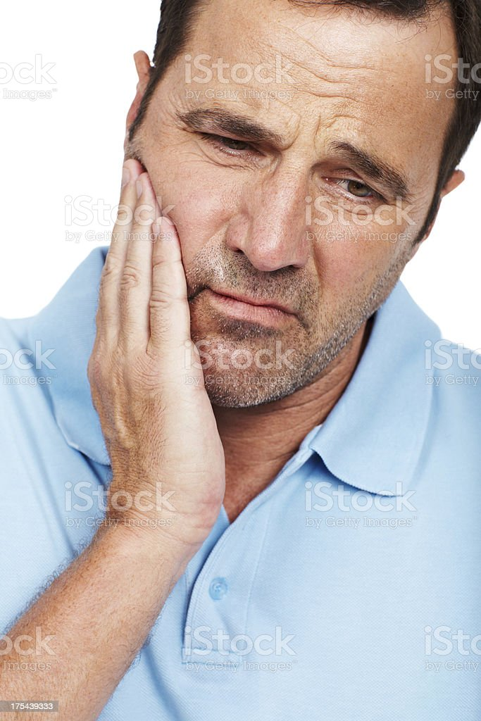 I've just got to see a dentist stock photo