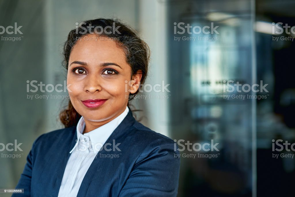 I've made my mark in the executive world stock photo
