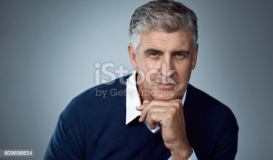 istock I've matured into the man I want to be 609698834