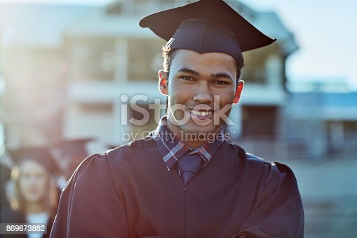858462408istockphoto I've persevered and it all paid off 869673882
