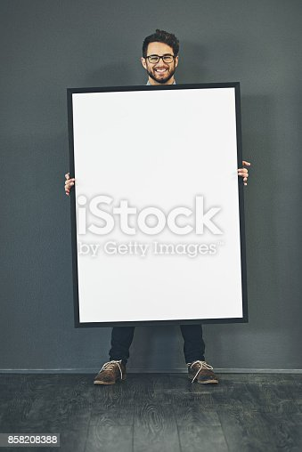 istock I've saved this space for you 858208388