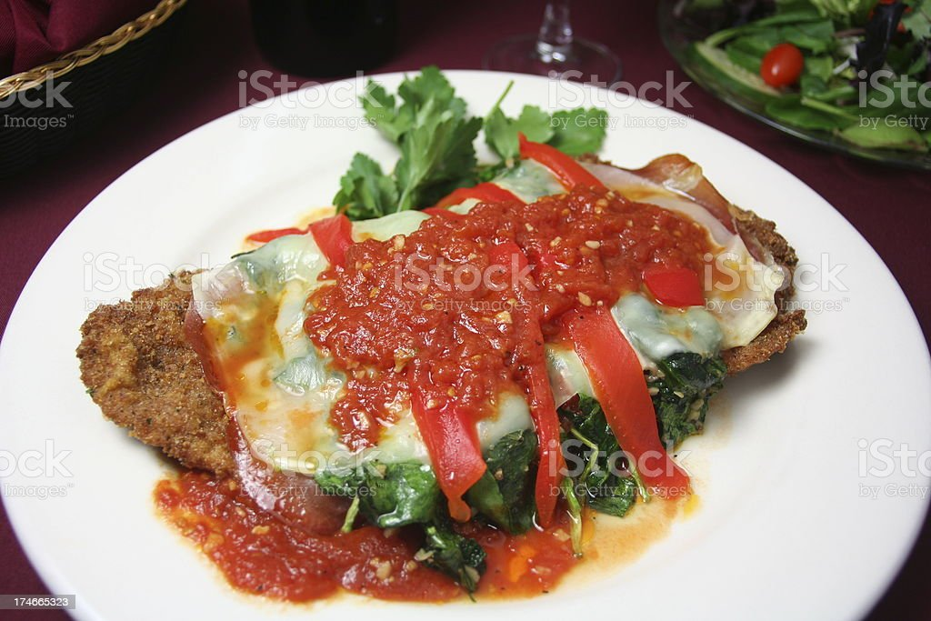 Veal Cutlet royalty-free stock photo