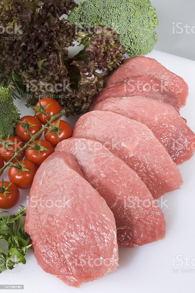 Veal meat royalty-free stock photo