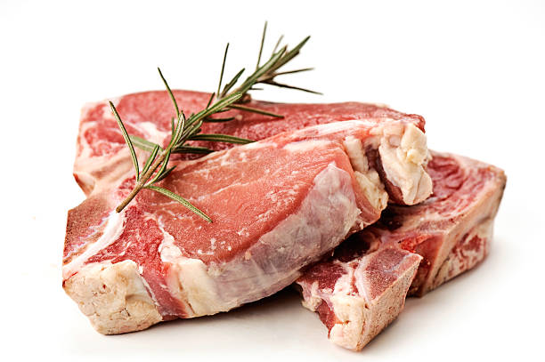 Veal stock photo