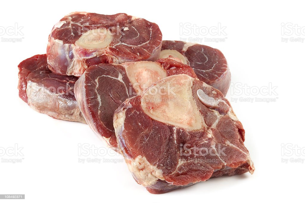 Veal Shanks stock photo