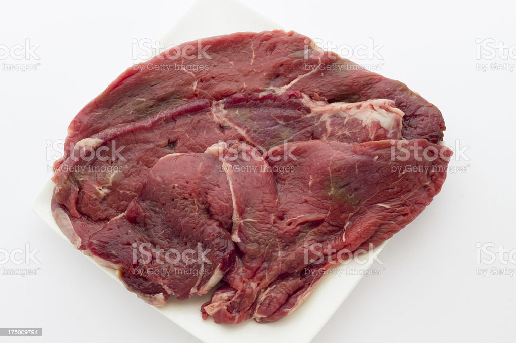 Veal steak royalty-free stock photo