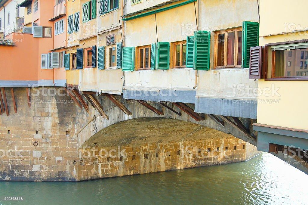 Vecchio Bridge - Florence - Italy stock photo