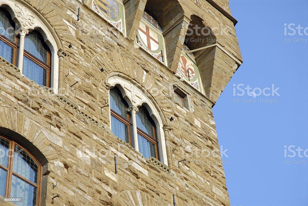 Vecchio Tower royalty-free stock photo