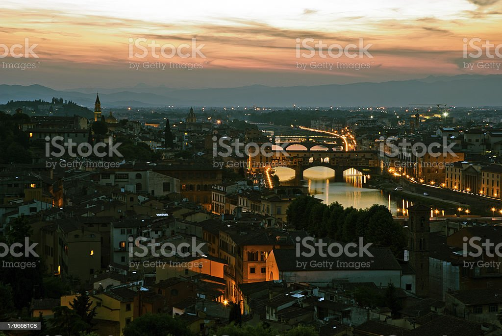 Ponte Vechio royalty-free stock photo