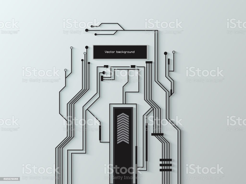 vector abstract circuit board background texture stock photo more rh istockphoto com