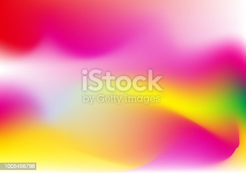 1007273724 istock photo Vector abstract color holographic background. 1005456798