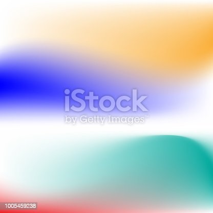 1007273724 istock photo Vector abstract color holographic background. 1005459238