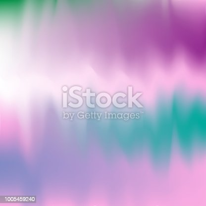 1007273724 istock photo Vector abstract color holographic background. 1005459240