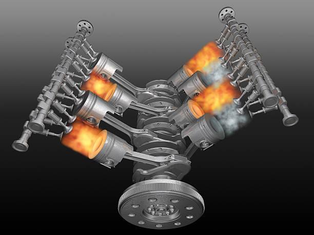Motor. – Foto