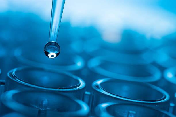 ilustración vectorial de biomedical prueba - química fotografías e imágenes de stock