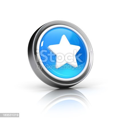 star glossy 3D icon. suitable for famous, favorite, bookmarks and starred featured items and topics..