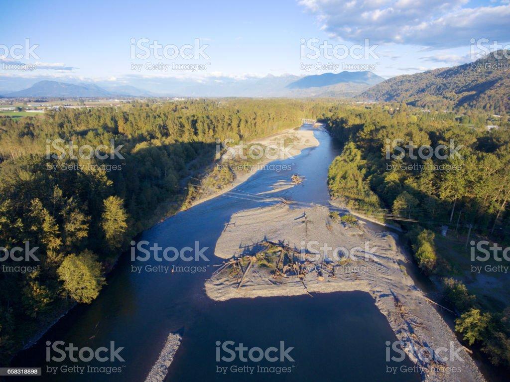 Vedder River stock photo