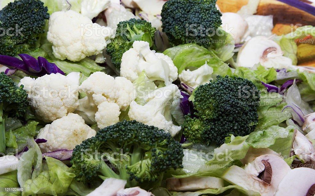 veg salad royalty-free stock photo