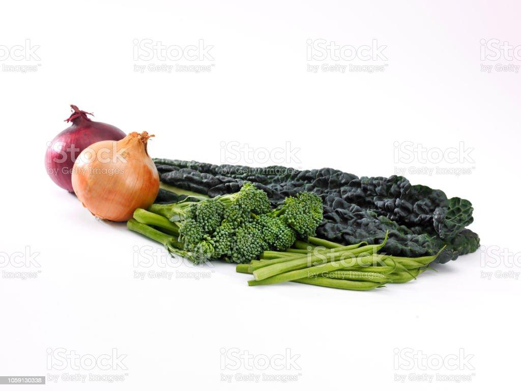 veg selection stock photo