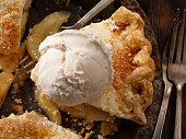 Vegan Apple Pie with Dairy Free Coconut Milk Ice Cream