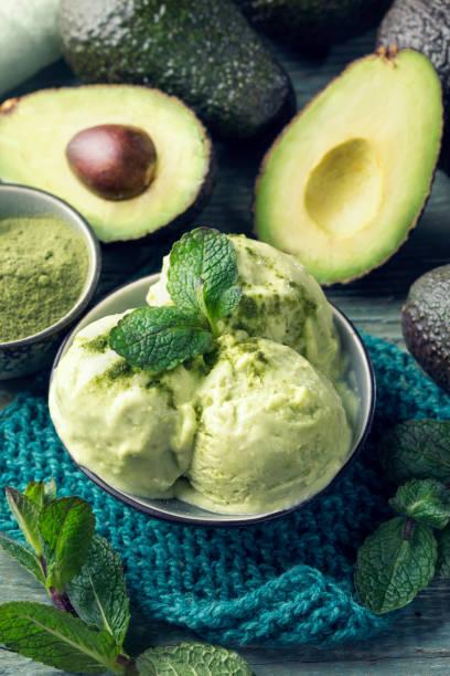 Vegan-Avocado-Eis – Foto