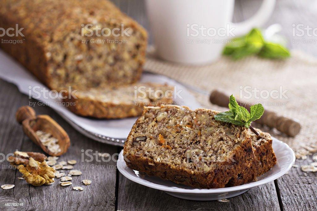 Vegan palitos de pão de banana - foto de acervo