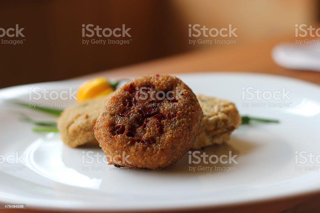 Vegan Burger stock photo